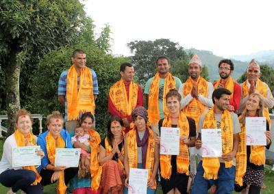 200 hours YTTC certificate distribution