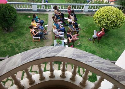 Mediation at Nepal Yoga Home