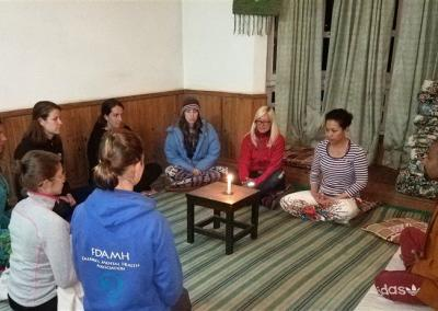 Meditation Practice at Nepal Yoga Home