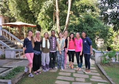 Nepal Yoga Home garden clips