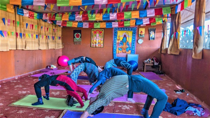 Yoga Class in Kathmandu