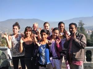 yoga-students-at-nepal-yoga-home