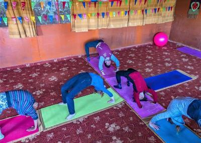 Yoga Training at Nepal Yoga Home