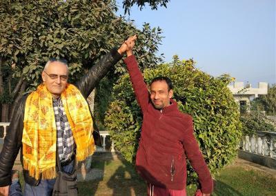 Garden Click Nepal Yoga Home