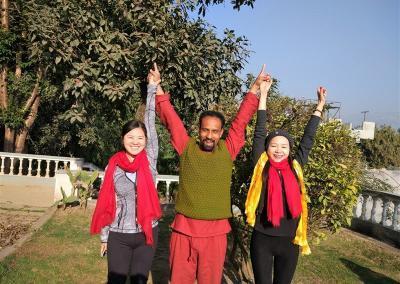 Nepal Yoga Home Garden Click