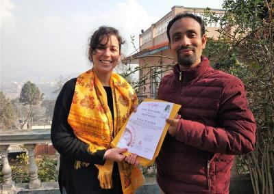Yoga Certification of Nepal Yoga Home