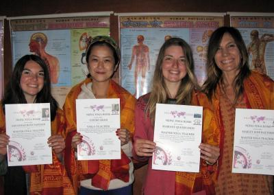 yoga teacher training certification