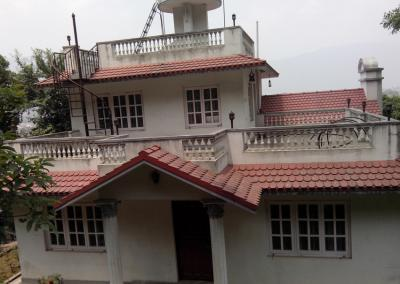 Back view of Nepal Yoga Home