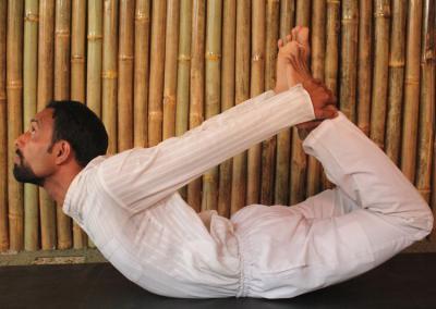 Dhanurasana Yoga Posture