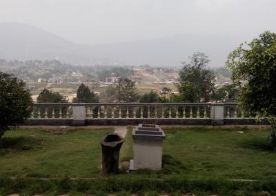 Nepal Yoga Site scene