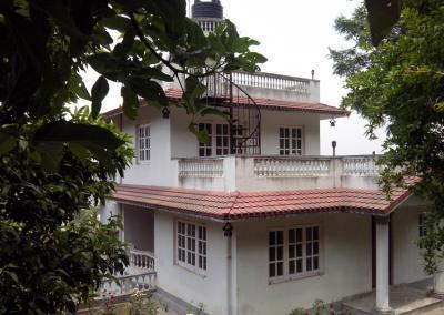 side view Nepal Yoga Home