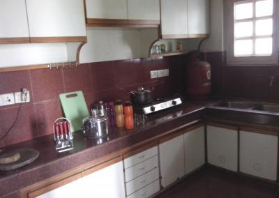 Kitchen of Nepal Yoga Home