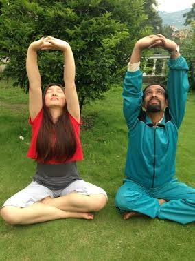 Parbataasana Yoga Posture