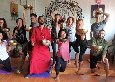 Sound Healing Program at Nepal Yoga Home