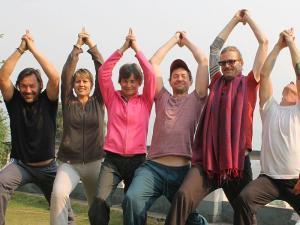 ten days yoga retreat in nepal