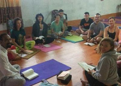 Nepal Yoga Home Yoga Learning Students