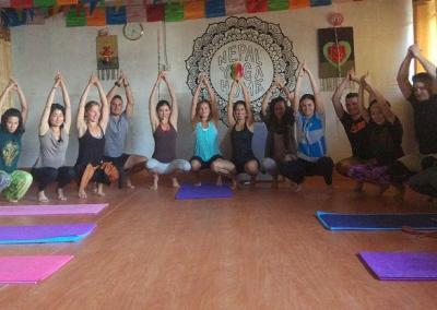 Nepal Yoga Home Yoga Training