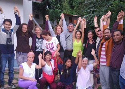 Practicing Yoga With Nepal Yoga Home Yoga Teacher