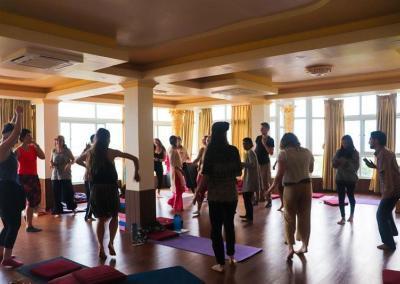 yoga celebration