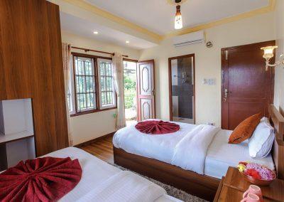 Nepal Yoga Home Room