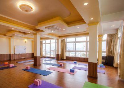 Yoga Hall for yoga class