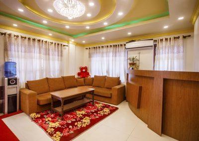 lobby- Nepal Yoga Home