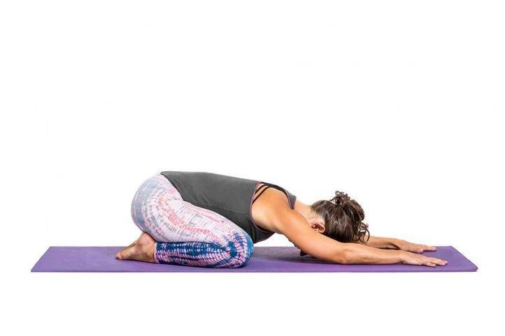 balasana yoga pose