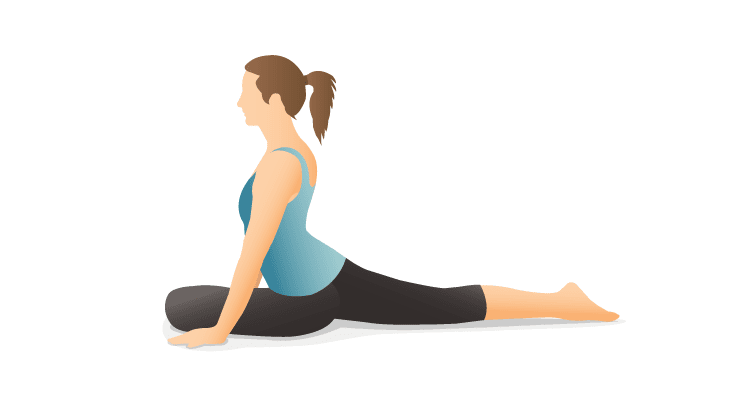 pigeon-pose- less popular asana