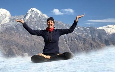 Yoga in Snow- Snowga The Hottest Trend of Yoga | Snow Yoga
