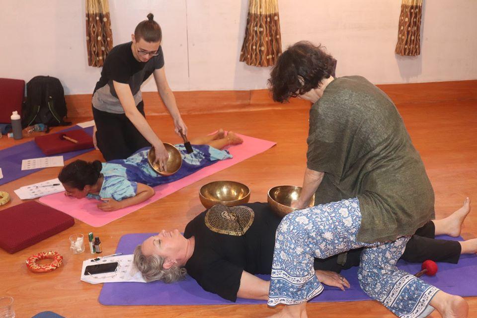 singing bowl healing in nepal