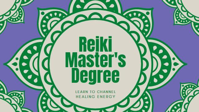 reiki level 3 or reiki masters degree