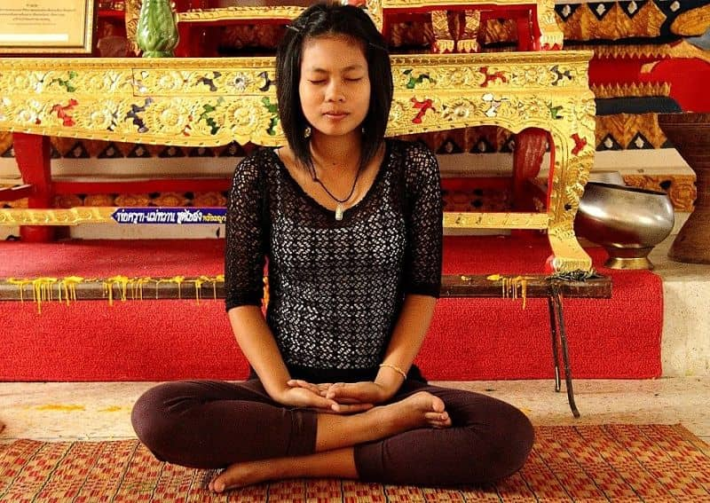 how to calm your mind by practicing yoga